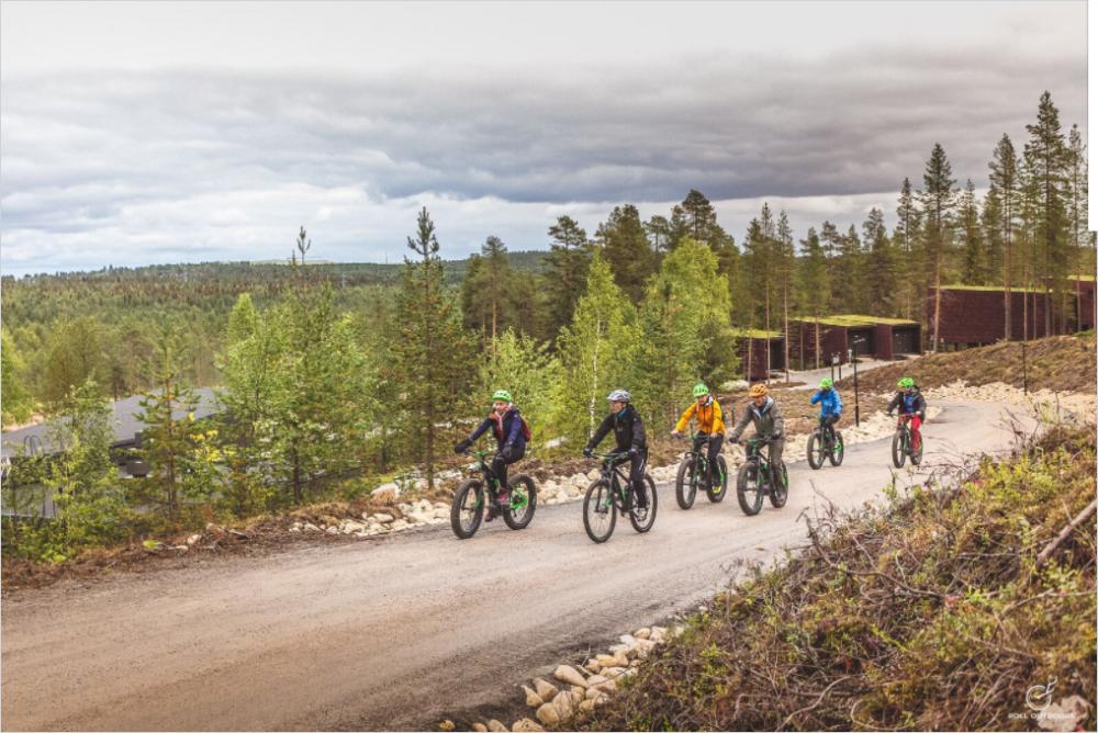 021 Bikeride through the woods of Rovaniemi