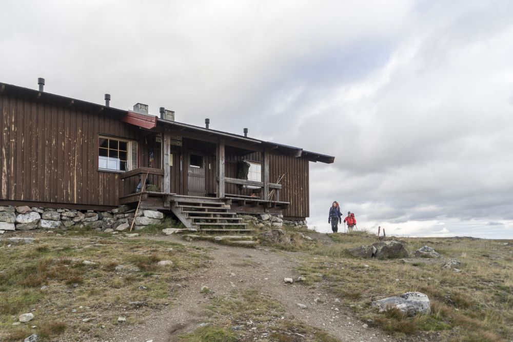 Back at Kuonjarjoki hut