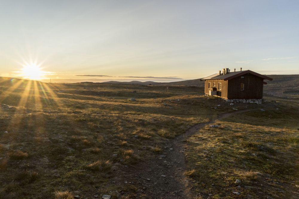 Morning at Kuonjarjoki hut