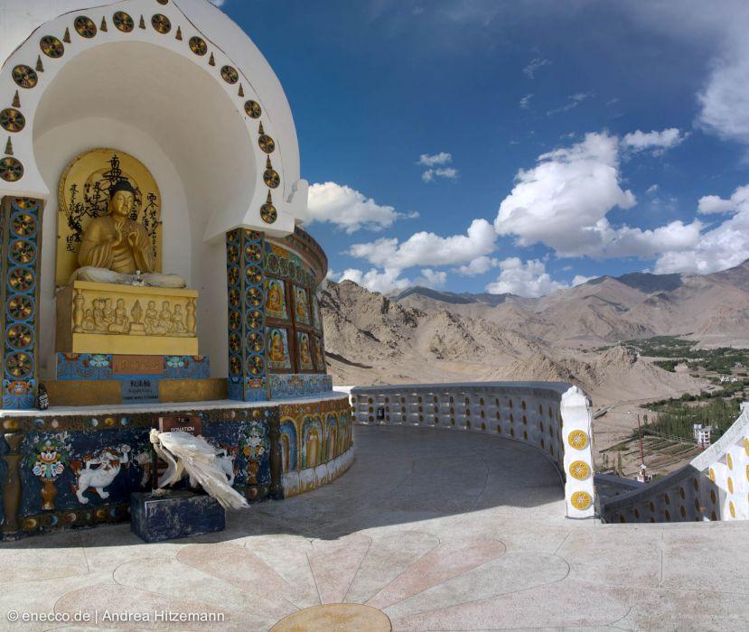 Leh Shanti Stupa und Kardung La